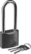 STAYER 50х42х22мм, металлический корпус, закаленная удлиненная дужка, замок навесной TOPLock 37160-50-1