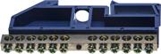СВЕТОЗАР 12 полюсов, DIN-изолятор, шина нулевая 49807-12