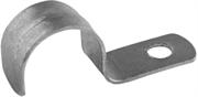 СВЕТОЗАР D15 мм, 100 штук, для крепления металлорукава, однолапковые, скобы металлические 60211-15-100