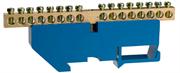 СВЕТОЗАР 16 полюсов, DIN-изолятор, шина нулевая 49807-16