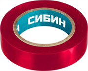 СИБИН 15 мм х 10 м, изоляционная лента пвх 1235-3