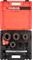 """ЗУБР 5 предметов, 1/2"""" - 1 1/4"""", в пластмассовом боксе, набор резьбонарезной трубный №4 28270-H4 - фото 113493"""