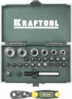 KRAFTOOL 26 шт., Cr-V, набор бит X-Drive 26065-H26 - фото 12557