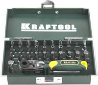 KRAFTOOL 33 шт., Cr-V, набор бит X-Drive 26065-H33 - фото 12560