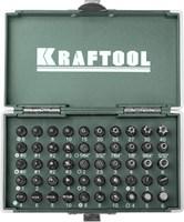 KRAFTOOL 50 шт., Cr-V, набор бит X-Drive 26065-H50 - фото 12561
