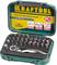 KRAFTOOL 33 шт., Cr-V, набор битов с мини-трещоткой 26157-H33 Профессионал - фото 126625