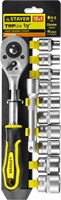 STAYER 12 шт., набор торцовых головок 27750-H12 - фото 12697