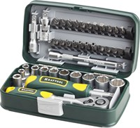 KRAFTOOL 38 шт., набор слесарно-монтажного инструмента INDUSTRIE 27970-H38 - фото 12757