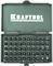 KRAFTOOL 50 шт., Cr-V, набор бит X-Drive 26065-H50 - фото 128662