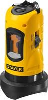 Нивелир лазерный линейный SLL-1, STAYER 34960, дальность 10м, точн. +/-0,5 мм/м - фото 13539