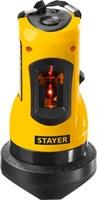 Нивелир лазерный линейный SLL-1, STAYER 34960, дальность 10м, точн. +/-0,5 мм/м - фото 13540