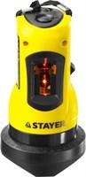 Нивелир лазерный линейный SLL-1, STAYER 34960, дальность 10м, точн. +/-0,5 мм/м - фото 13551