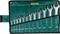 KRAFTOOL 12 шт., 8-19 мм, Cr-V сталь, хромированный, набор ключей гаечных рожковых 27033-H12 - фото 137668