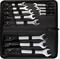 STAYER 12 шт, 6 - 27 мм, набор комбинированных гаечных ключей 2-271257-H12 - фото 139574