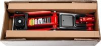 "Домкрат гидравлический подкатной ""RED FORCE"", 3т, 135-400мм, STAYER 43154-3 - фото 14677"