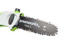 Высоторез/Сучкорез электрический Greenworks GPS7220, 720W, 20 см - фото 23886