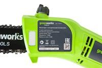 Высоторез/Сучкорез электрический Greenworks GPS7220, 720W, 20 см - фото 23887
