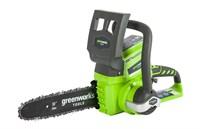 Цепная пила аккумуляторная GreenWorks G24CS25 - фото 23914