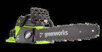 GreenWorks GD40CS40K4, цепная пила аккумуляторная - фото 23920