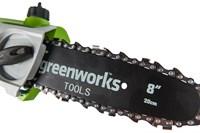 Высоторез/Сучкорез аккумуляторный Greenworks G24PS20 - фото 23966