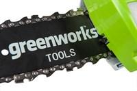 Высоторез/Сучкорез аккумуляторный Greenworks G24PS20 - фото 23967