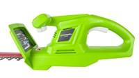 Кусторез аккумуляторный Greenworks G24HT Basic - фото 23977