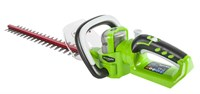 Кусторез аккумуляторный Greenworks G24HT57 Deluxe, 24V, 57см, без АКБ и ЗУ - фото 23982