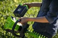 Кусторез аккумуляторный Greenworks GD60HT - фото 23998