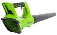 Воздуходув аккумуляторный Greenworks G24AB, 24V, без АКБ и ЗУ - фото 24050
