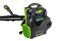 Greenworks GC82BPBK5, воздуходувка ранцевая аккумуляторная - фото 24068