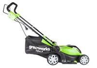 Greenworks GLM1241, газонокосилка электрическая - фото 24126