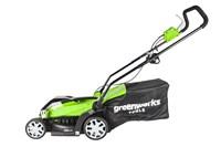 Greenworks GLM1035, газонокосилка электрическая - фото 24161