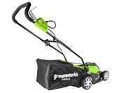 Greenworks GLM1035, газонокосилка электрическая - фото 24165