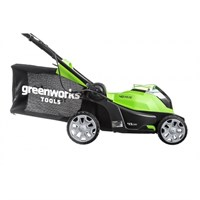Greenworks G40LM41K6,  газонокосилка аккумуляторная - фото 25197