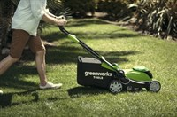 Greenworks G40LM41K6,  газонокосилка аккумуляторная - фото 25206