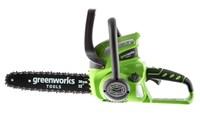 Greenworks G40CS30K3, цепная пила аккумуляторная - фото 25269