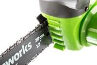Greenworks G40CS30K4, цепная пила аккумуляторная - фото 25276