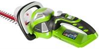 GreenWorks G40HT61, кусторез аккумуляторный - фото 25338